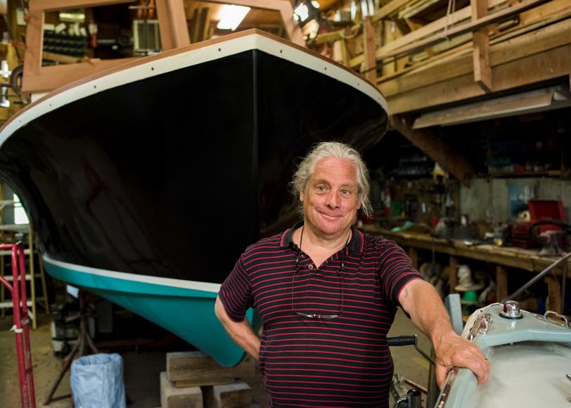 Gus Konitzky - shipbuilder